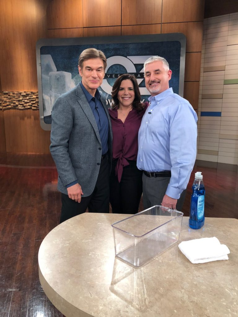 Marla on the Dr. Oz Show